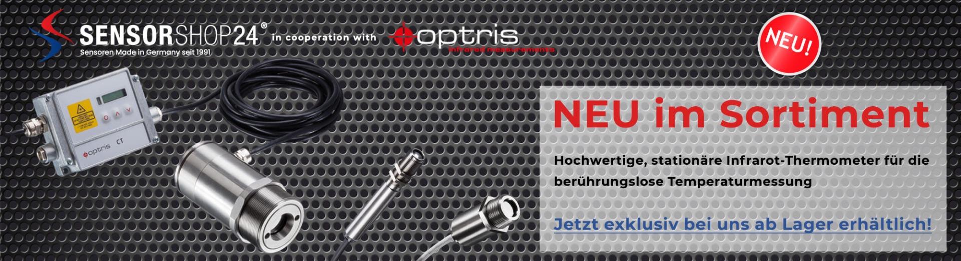 Neu im Sortiment - Optris Infrarot-Thermometer