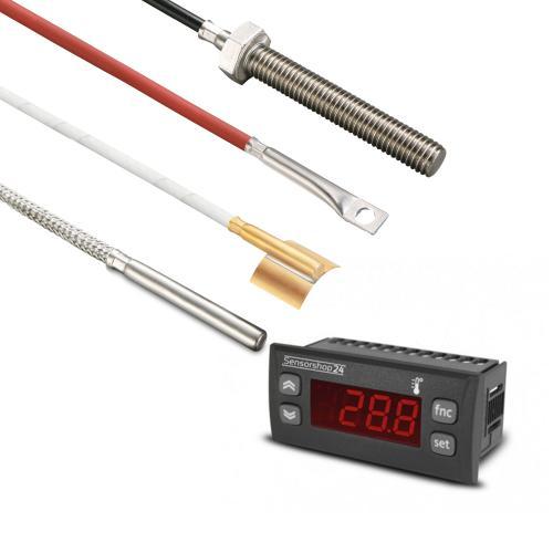 Temperaturanzeigen mit externem Temperaturfühler