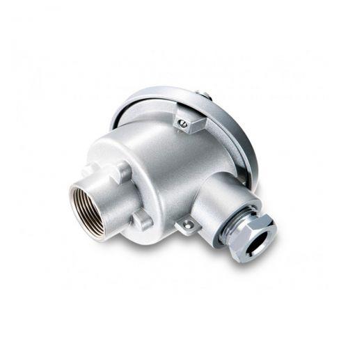 Anschlusskopf Aluminium DIN Form B (BA)