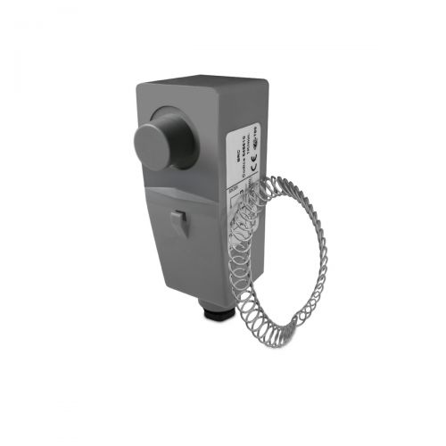 Anlege-Thermostat mit Ausseneinstellung
