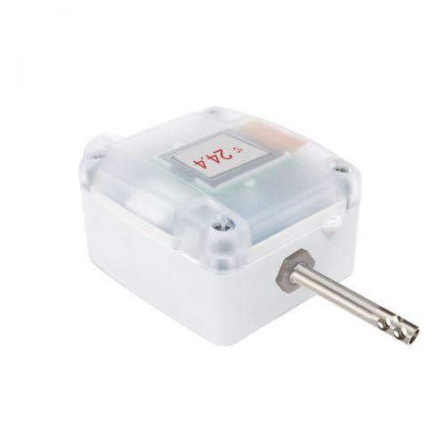 Außentemperaturfühler mit externer Luftfühlerhülse (0‑10V/4‑20mA)