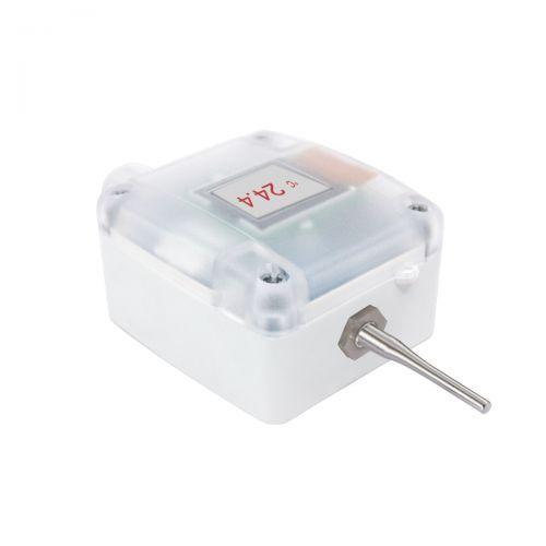 Außentemperaturfühler mit externer Hülse schnellansprechend (0‑10V/4‑20mA)
