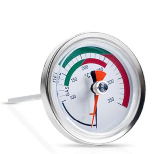 Bimetall-Rauchgastemperaturcontroller bis 350°C für Abgasmessung mit Magnet und Schleppzeigersystem