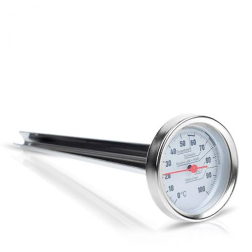 Bimetall-Einstichthermometer bis 100°C mit Spitze und klappbarem Handgriff