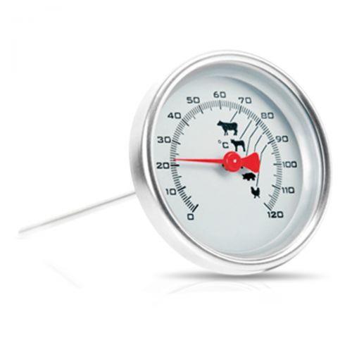 Bimetall-Bratenthermometer bis 120°C mit Spitze