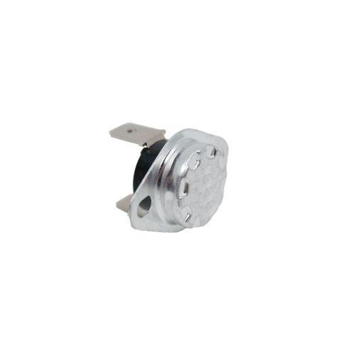 Bimetall Temperaturschalter - Thermostat - Öffner/Schließer - Kunststoff - fester Überwurf-Flansch