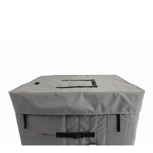 Isolierdeckel für Containerheizer für 1000 Liter Container