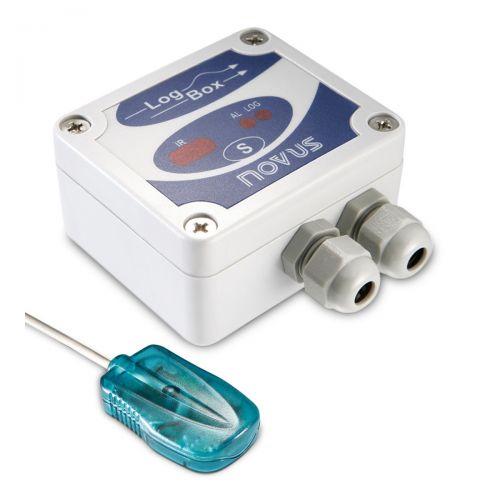 Temperatur Datenlogger LogBox AA für 2 externe Temperaturfühler