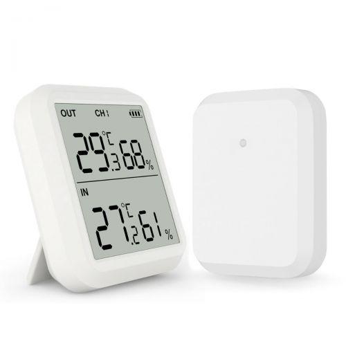 Digitales Funk Thermo-Hygrometer mit Außensensor und externer Sonde