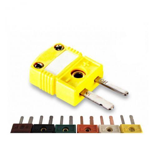 Miniaturstecker für Typ K,  J,  T,  N