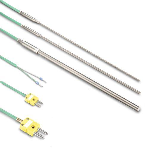 Mantelthermoelement Typ K bis 1150°C - Silikonkabel