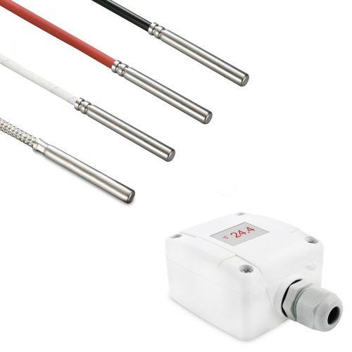 Messumformer mit Kabelfühler Ø 6 mm (0‑10V/4‑20mA)