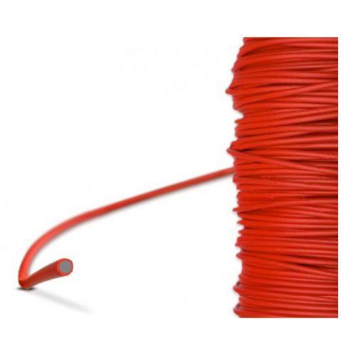 PFA-Einzelader Rot (-60°C...+250°C)