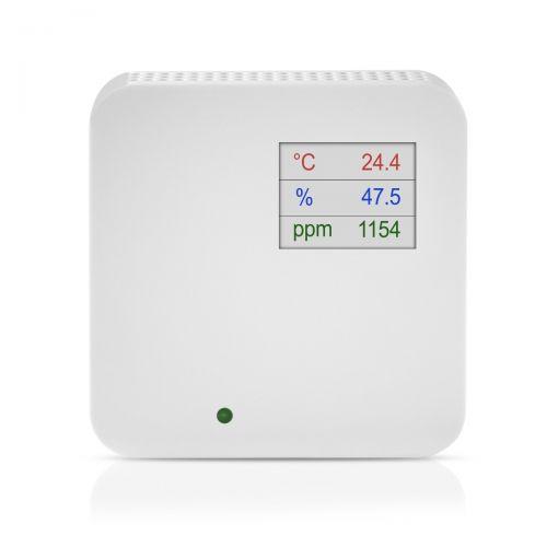 Raumluftqualitätsfühler zur Messung von Mischgas, Temperatur und Feuchte (0-10V/4-20mA)