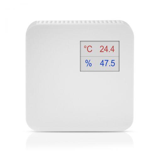 Raumkombifühler für Temperatur und Feuchte (0-10V/4-20mA)