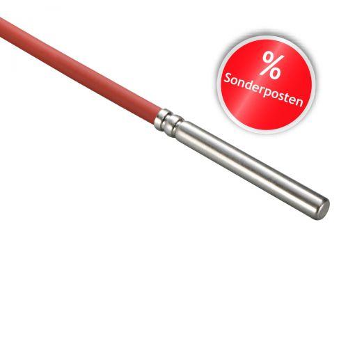 Kabelfühler | Silikon, 6x30mm, PT100A, 1.0m, 3-Leiter | Sonderartikel