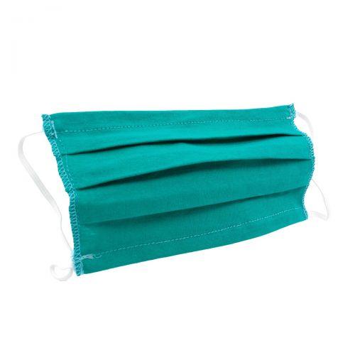 Waschbare Baumwollmaske - grün
