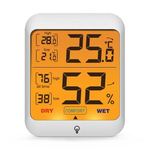 Digitaler Luftfeuchtigkeits- und Temperaturwächter für den Innenbereich
