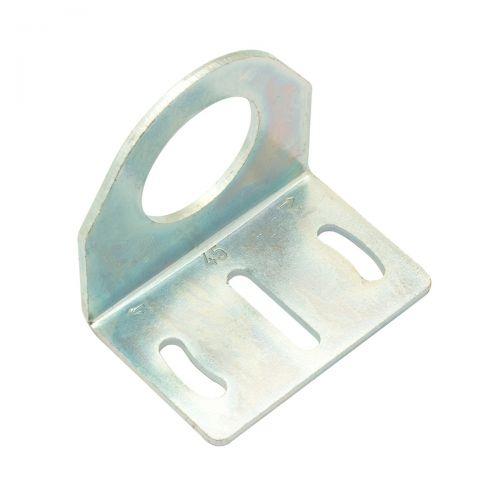 Rechtwinklige Halterung aus Metall für zylindrische M30-Sensoren