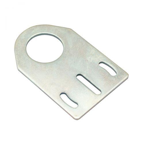 Axiale Montagehalterung aus Metall für zylindrische M30-Sensoren