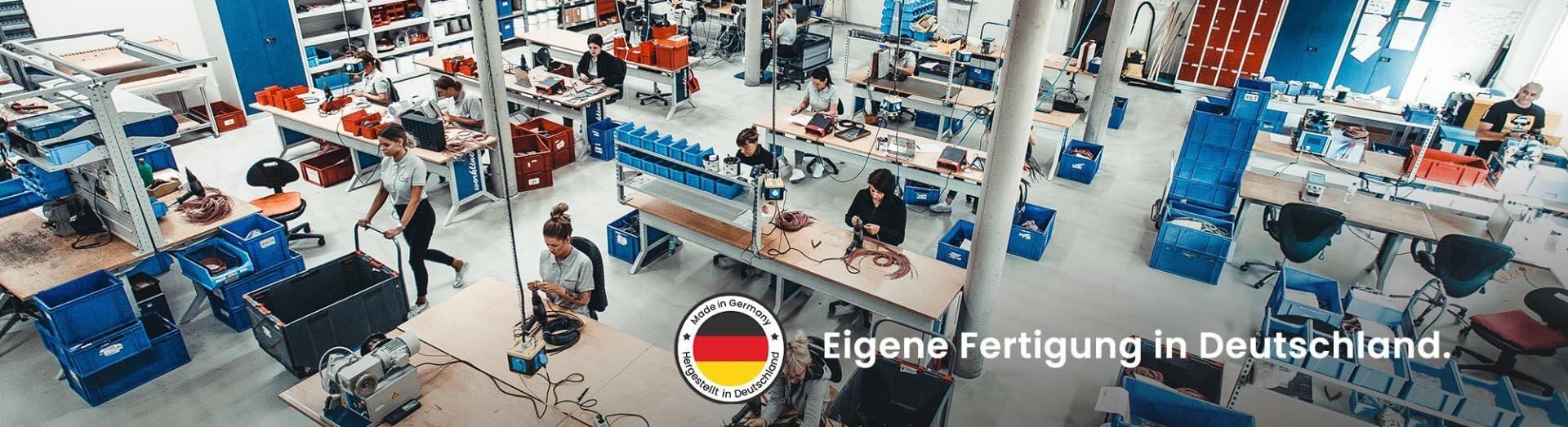 Eigene Fertigung von Sensoren in Deutschland
